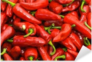 Espelette peppers Pixerstick Sticker