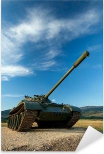 exhibited a tank T-55 Pixerstick Sticker