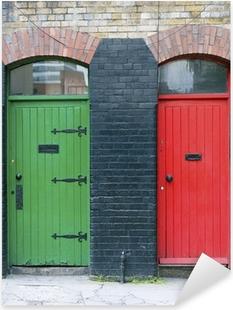 Exterior doors, Ireland Pixerstick Sticker