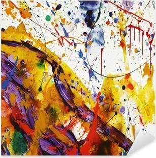 Sticker Pixerstick Faire de la peinture
