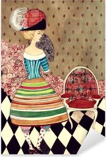 fairy lady Pixerstick Sticker