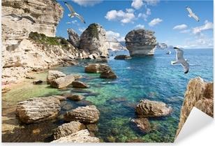 falaises de Bonifacio, Corse Pixerstick Sticker