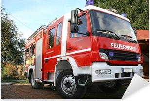 Feuerwehr Pixerstick Sticker