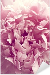 Sticker Pixerstick Fleur de pivoine