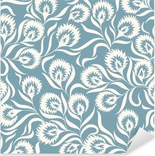 Floral Pattern Pixerstick Sticker