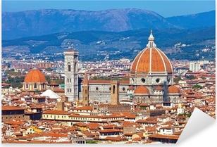 Florence Cityscape Pixerstick Sticker