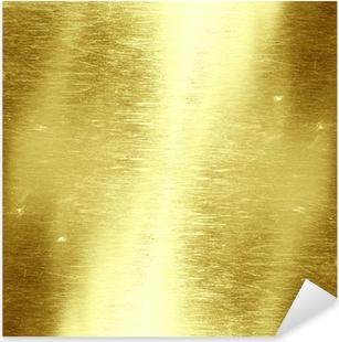 Sticker Pixerstick Fond d'or