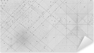 Sticker Pixerstick Fond de symboles et d'éléments de la géométrie sacrée