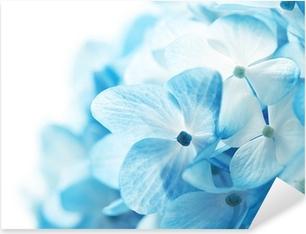 Sticker Pixerstick Fond fleurs