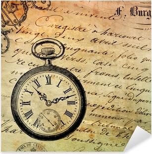 Sticker Pixerstick Fond montre