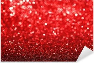 Sticker Pixerstick Fond paillettes rouge