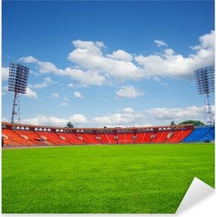 football field Pixerstick Sticker