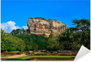 Sticker Pixerstick Forteresse de Sigiriya Rock