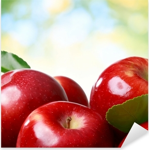Fresh apples Pixerstick Sticker