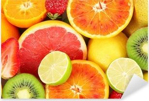 Sticker Pixerstick Frutta