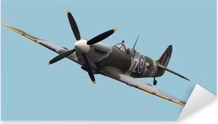 Pixerstick Sticker Geïsoleerde Spitfire