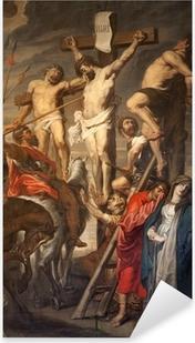Pixerstick Sticker Gent - Christus op het Kruis door Rubens