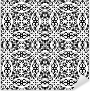 Geometric Seamless Pattern. Abstract Background Pixerstick Sticker