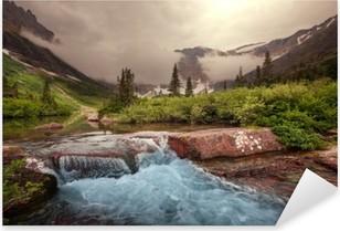 Sticker Pixerstick Glacier Park