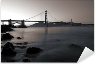 Golden Gate Bridge San Francisco California Pixerstick Sticker