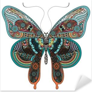 gorgeous butterfly Pixerstick Sticker