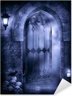 Gothic Fantasy Pixerstick Sticker