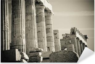 greek columns Pixerstick Sticker