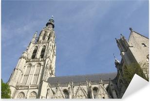 Pixerstick Sticker Grote Kerk van Breda