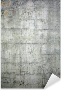 grunge concrete texture background Pixerstick Sticker