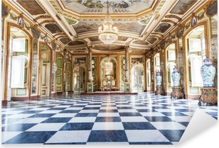 Hall of Ambassadors in Queluz National Palace, Portugal Pixerstick Sticker