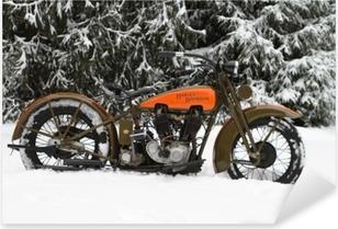 Sticker Pixerstick Harley Davidson