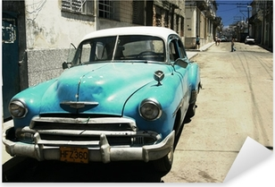 Pixerstick Sticker Havana straat - dwarsproces