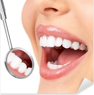 Sticker Pixerstick Healthy teeth