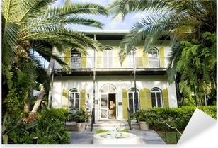 Pixerstick Sticker Hemingway House, Key West, Florida, Verenigde Staten