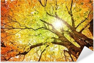 Herbst-Baum Pixerstick Sticker