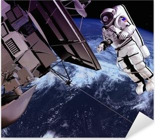 Pixerstick Sticker Het ruimteschip