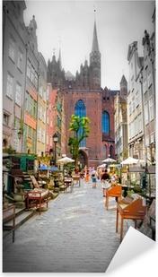 historic city of Gdansk Pixerstick Sticker