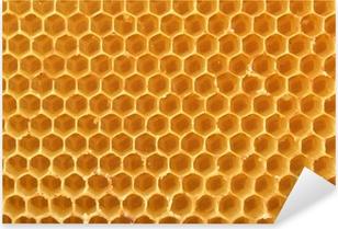 Pixerstick Sticker Honingraat achtergrond