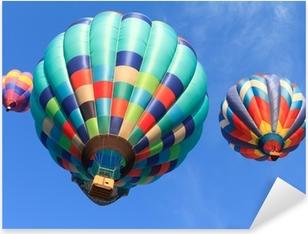 hot air balloons Pixerstick Sticker