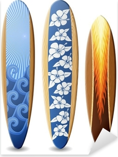 Pixerstick Sticker Houten surfplanken