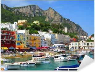 Sticker Pixerstick Ile de Capri, en Italie, en Europe