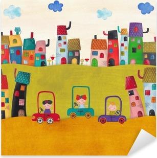 Sticker Pixerstick Illustration pour les enfants