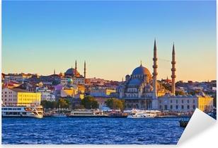 Istanbul sunset Pixerstick Sticker