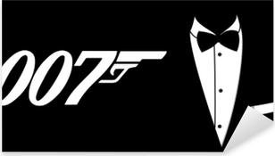 Sticker Pixerstick James Bond