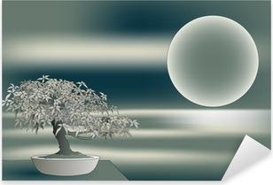 Pixerstick Sticker Japanse esdoorn bonsai