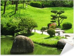 Jardin Japonais Pixerstick Sticker