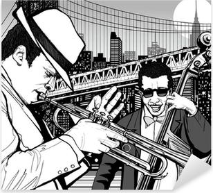 Pixerstick Sticker Jazz in New York