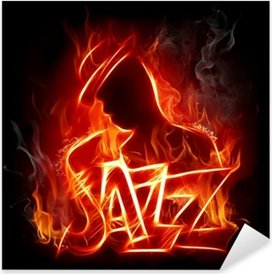 Jazz Pixerstick Sticker