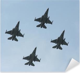 jet fighters Pixerstick Sticker