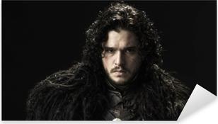 Jon Snow Pixerstick Sticker